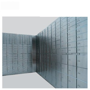 China Secuirty Safe Deposit Box with Keys Valuables Storage Safe Box K-BXG45 factory and suppliers | Mdesafe