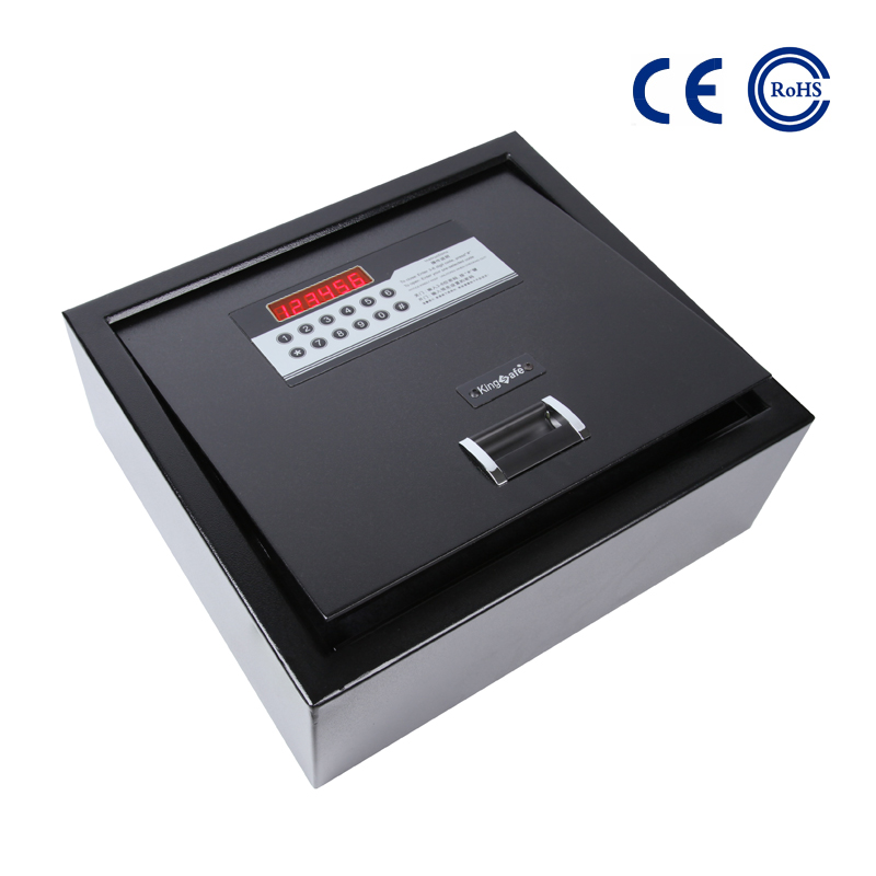 China Top Quality Hotel Drawer Safe - Hotel Top Opening Safe With LED Display K-FGM600 – Mdesafe factory and suppliers | Mdesafe