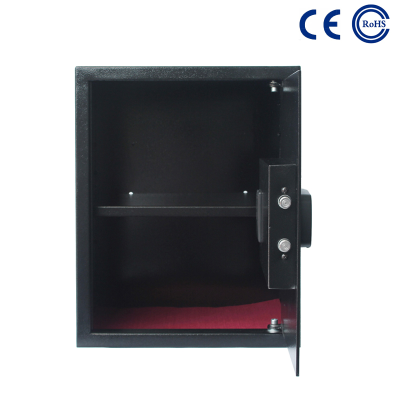 China Wholesale Price China Home Hotel Office Large Cash Safe Box Key -  Cheap Digital Hotel Room Deposit Safe Box with Laptop Size K-BE200H – Mdesafe factory and suppliers | Mdesafe