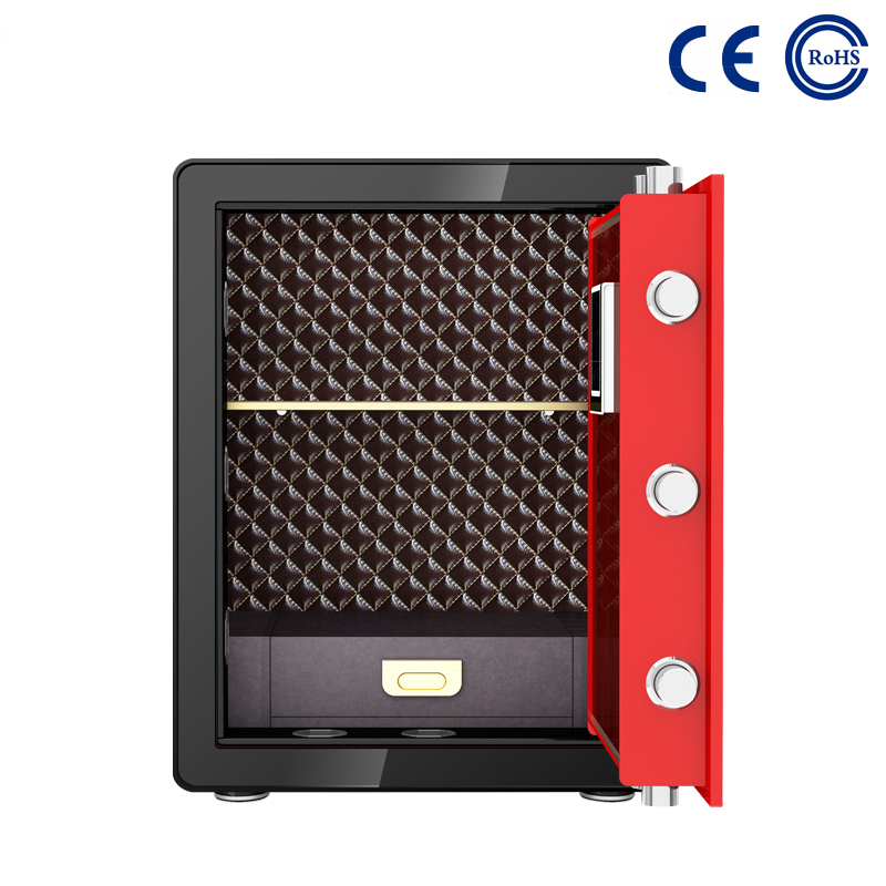 2020 wholesale price Electronic Safe For Home - Electronic Fingerprint Home Safe Box MD-60A – Mdesafe