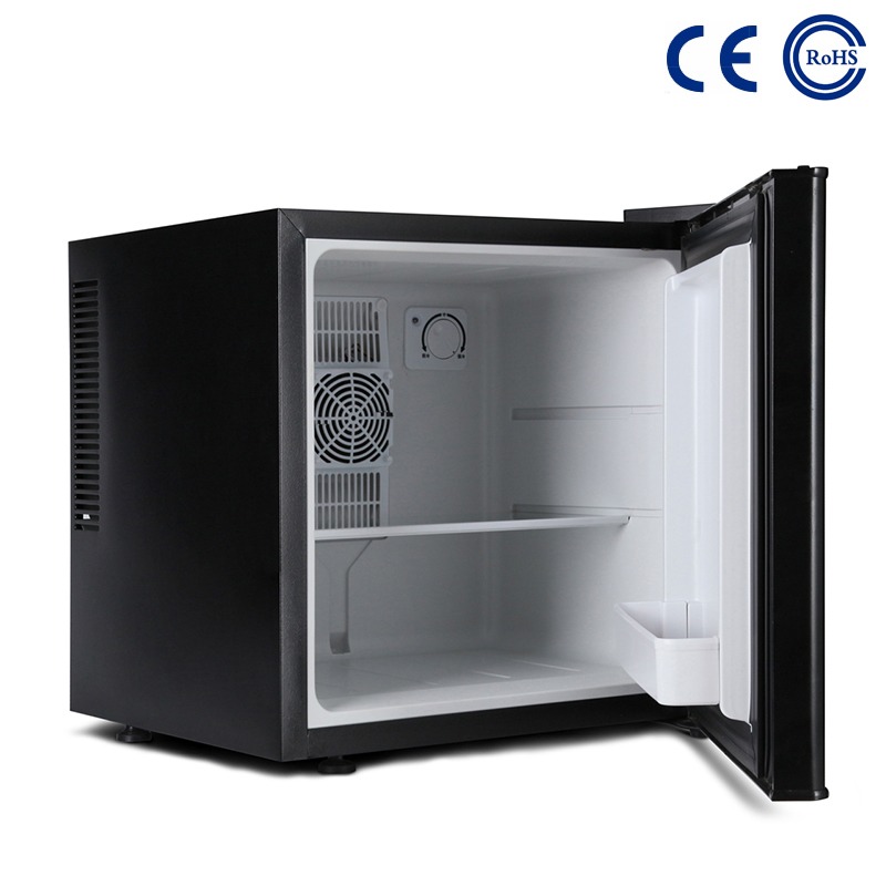 China Wholesale Price Hot Sale Beverage Wine Can Cooler Mini Bar Fridge For Hotel Xc-30 - Small Hotel Room Thermoelectric Minibar For Drinks M-22BA – Mdesafe factory and suppliers | Mdesafe