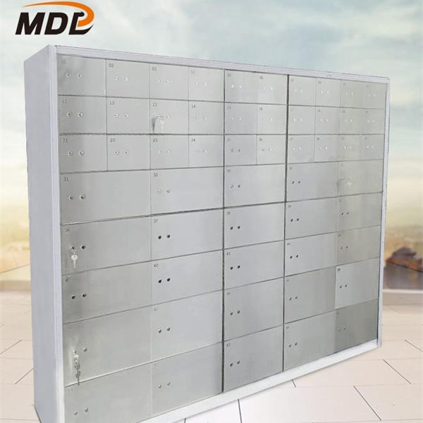 China Cheapest Factory Customize Box-Type Safekeeping Box Safe Deposit Box For Bank Hotel Home -