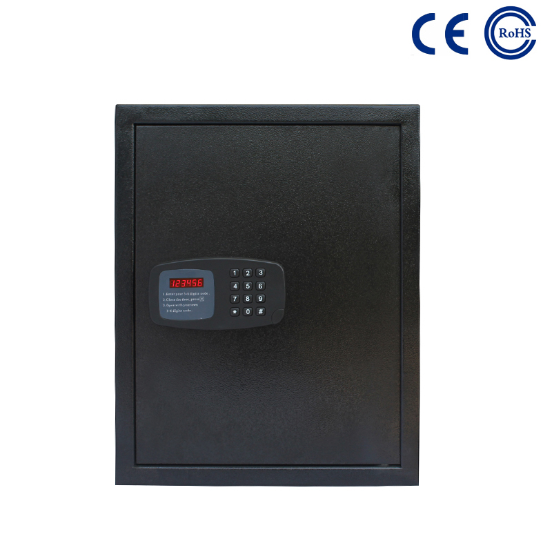 China Wholesale Price China Home Hotel Office Large Cash Safe Box Key -  Cheap Digital Hotel Room Deposit Safe Box with Laptop Size K-BE200H – Mdesafe factory and suppliers | Mdesafe Featured Image