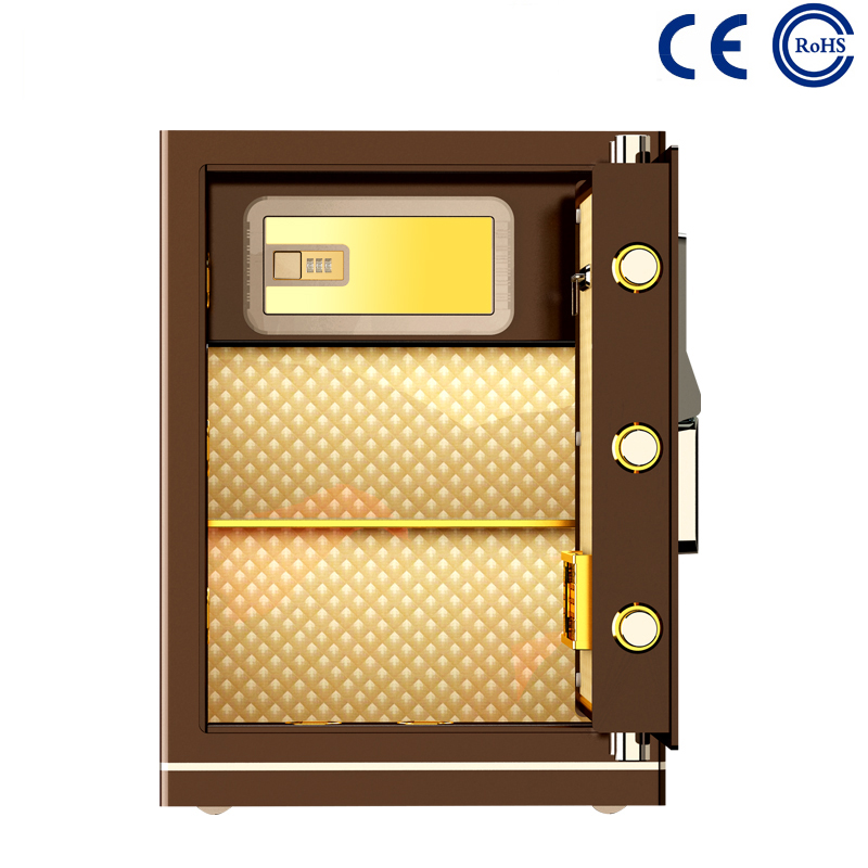 China factory low price Wall Mounted Key Safe Lock Box - Bedroom Closet Electronic Fingerprint Safe For Home MD-60B – Mdesafe factory and suppliers | Mdesafe