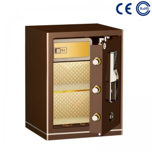 China Bedroom Closet Electronic Fingerprint Safe For Home MD-60B factory and suppliers | Mdesafe