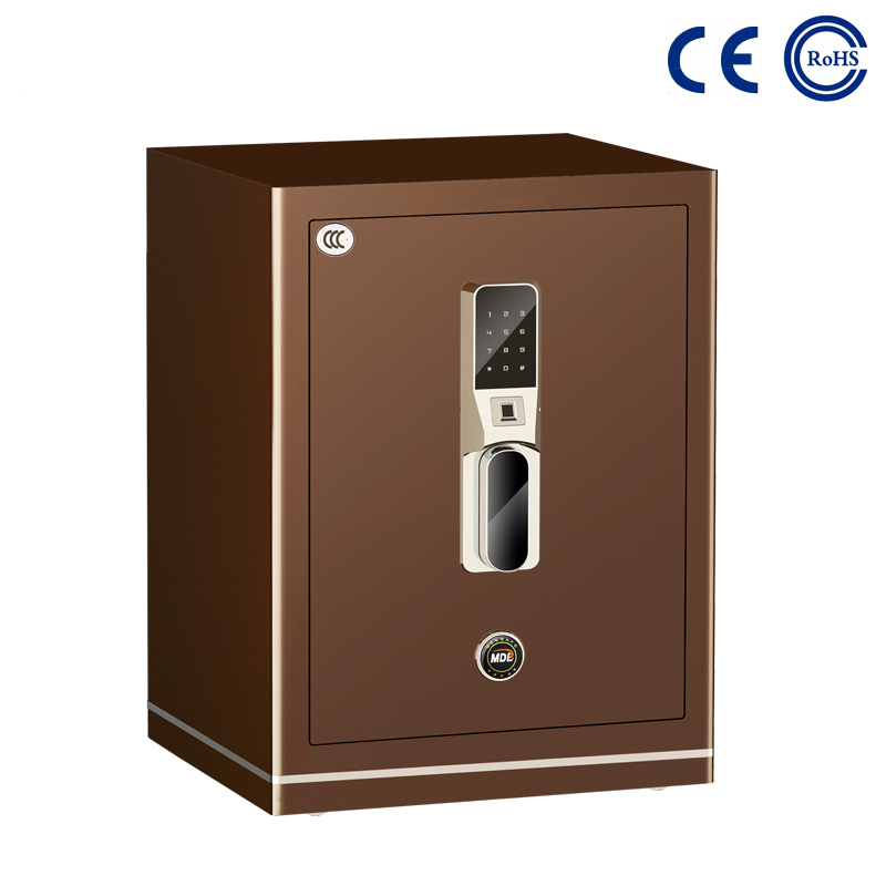 China Bedroom Closet Electronic Fingerprint Safe For Home MD-60B factory and suppliers | Mdesafe Featured Image