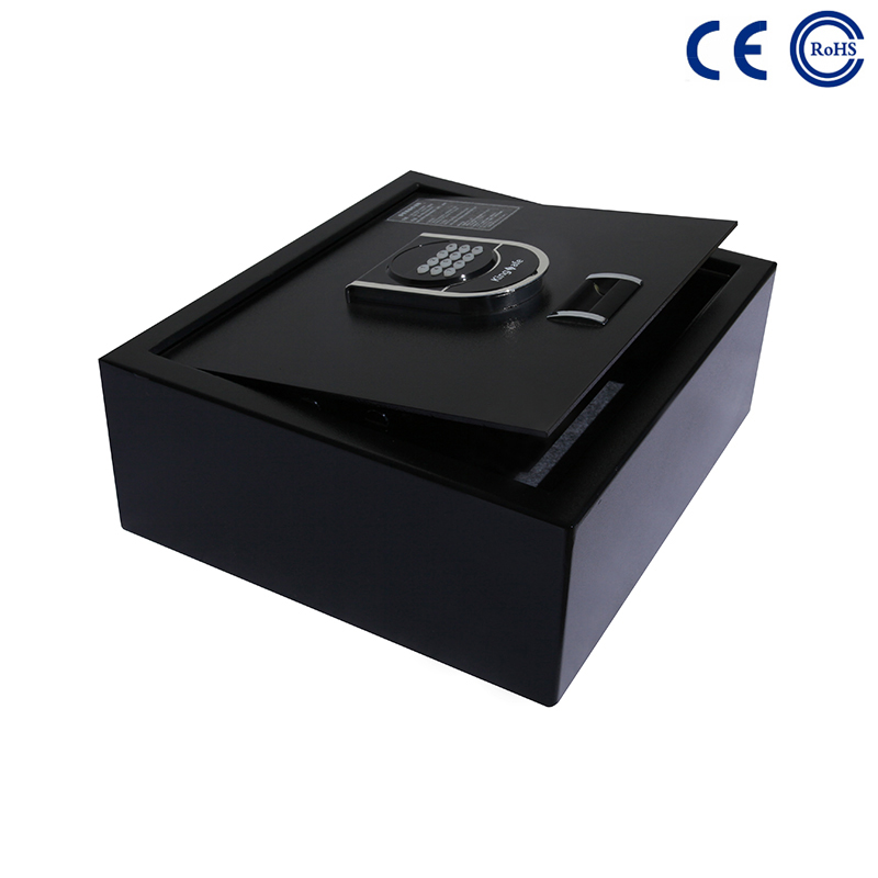 China Best Price on Office Hotel Use High Quality Metal Key Box - OEM Hotel Room Safe With Blue Backlight Keypad K-FGM001 – Mdesafe factory and suppliers | Mdesafe