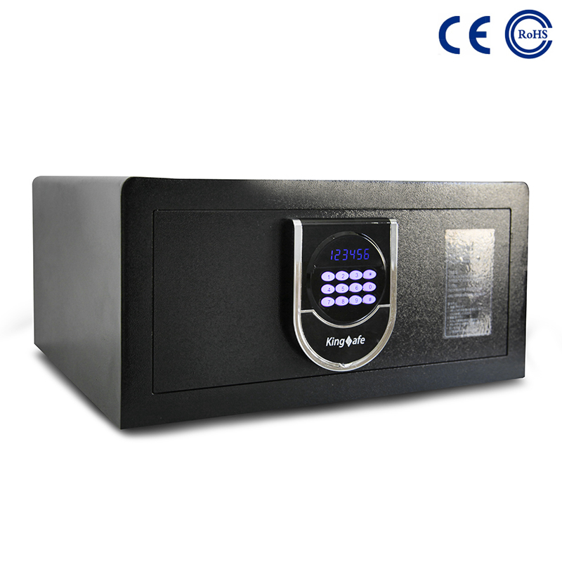 China Manufacture Price Security Metal Wardrobe Top Open Hotel Safe Locker  K-JG001 factory and suppliers | Mdesafe Featured Image
