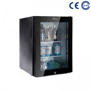 OEM/ODM Manufacturer Glass Door High Quality Hotel Refrigerator Mini Bar -