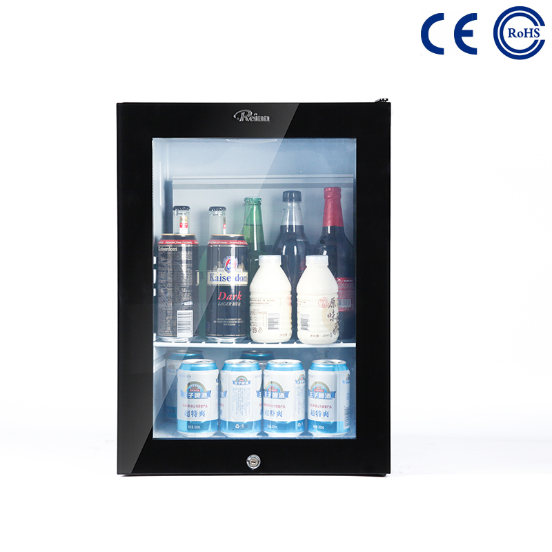 China Factory Supply Solid Door Mini Refrigerator Hotel And Household Fridge - Glass Door Hotel and Home Use Mini Beverage Fridge M-25T – Mdesafe factory and suppliers | Mdesafe