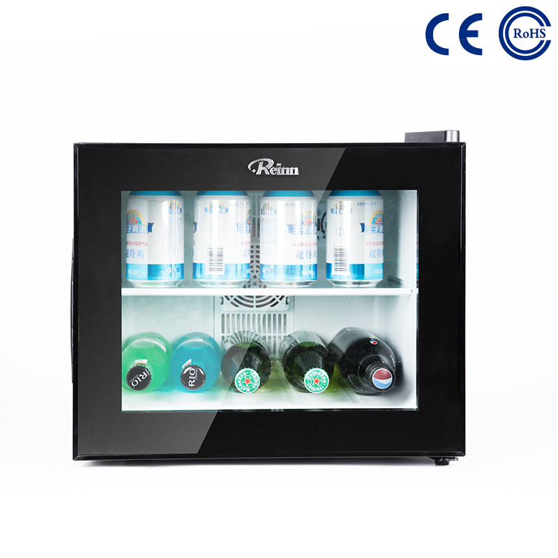 China Rapid Delivery for Small Fridge For Hotel Room - Mini Display Refrigerator 22L Hotel Mini Bar Custom Mini Fridge M-22BC – Mdesafe factory and suppliers | Mdesafe
