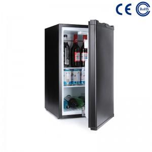 50L Minibar hisorohana miaraka amin'ny varavarana misokatra ho an'ny Hotel Mini fridge M-50A