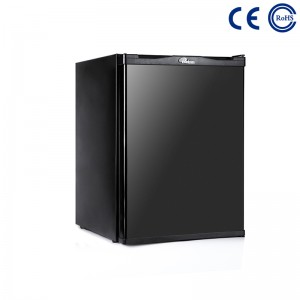 Factory wholesale Hotel No Noise Absorption Mini Bar Fridge Without Compressor - Hotel Room Small Minibar Display Fridge With Lock Optional M-40A – Mdesafe