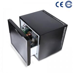 Китай Хотелски стаи за гости екологичен минибар хладилник термоелектрическо чекмедже M-45B фабрика и доставчици |  Mdesafe