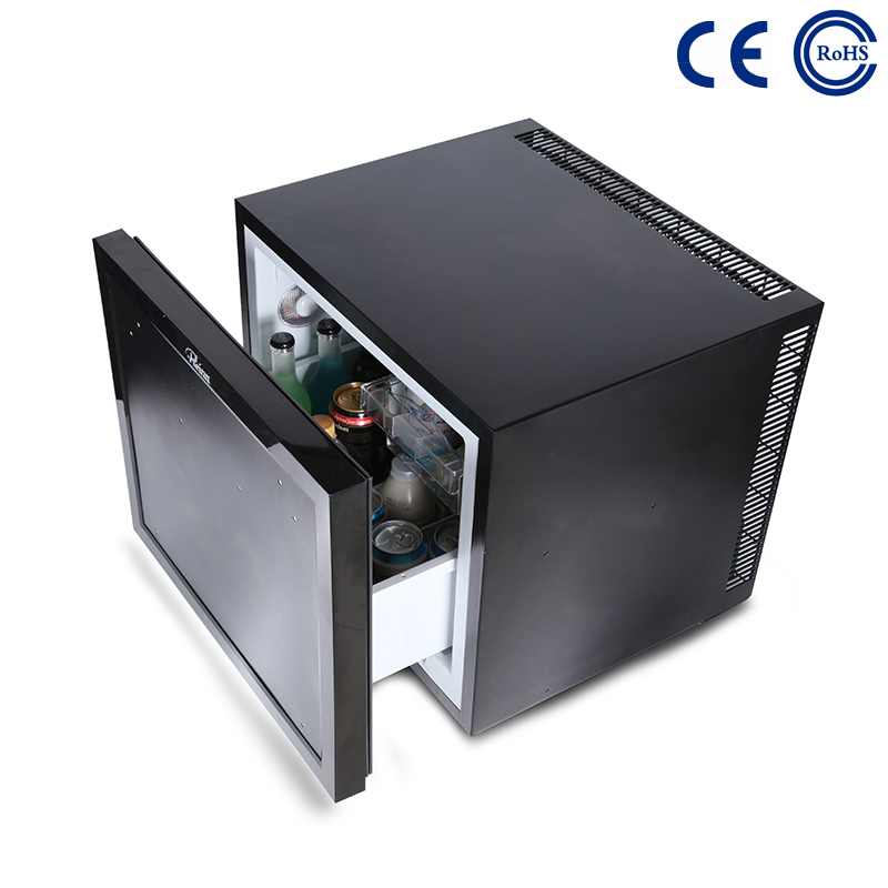 China Popular Design for Hotel With Fridge - Hotel Guestroom Eco-Friendly Minibar Fridge Thermoelectric Drawer M-45B – Mdesafe factory and suppliers | Mdesafe