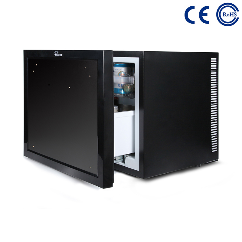 China Hotel Guestroom Eco-Friendly Minibar Fridge Thermoelectric Drawer M-45B factory and suppliers | Mdesafe Featured Image