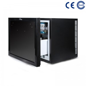 Hotel Guestroom Eco-Friendly Minibar Fridge Thermoelectric Drawer M-45B