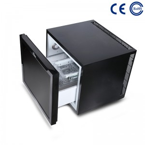 Hotel Guestroom Eco-Friendly Minibar Fridge Thermoelectric Drawer M-45C