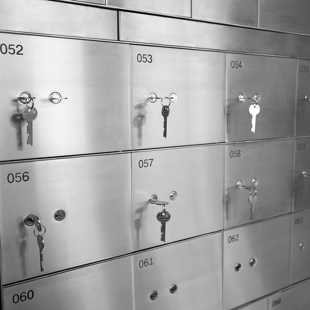 Mechanical Custom Safe Deposit Locker for Hotel & Bank K-BXG30 Featured Image