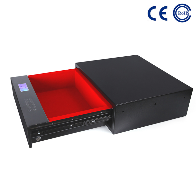 China 2020 wholesale price Lock Box Key Safe - High Tech Advanced Electronic Front Opening Drawer Safe Box  K-DR480 – Mdesafe factory and suppliers | Mdesafe