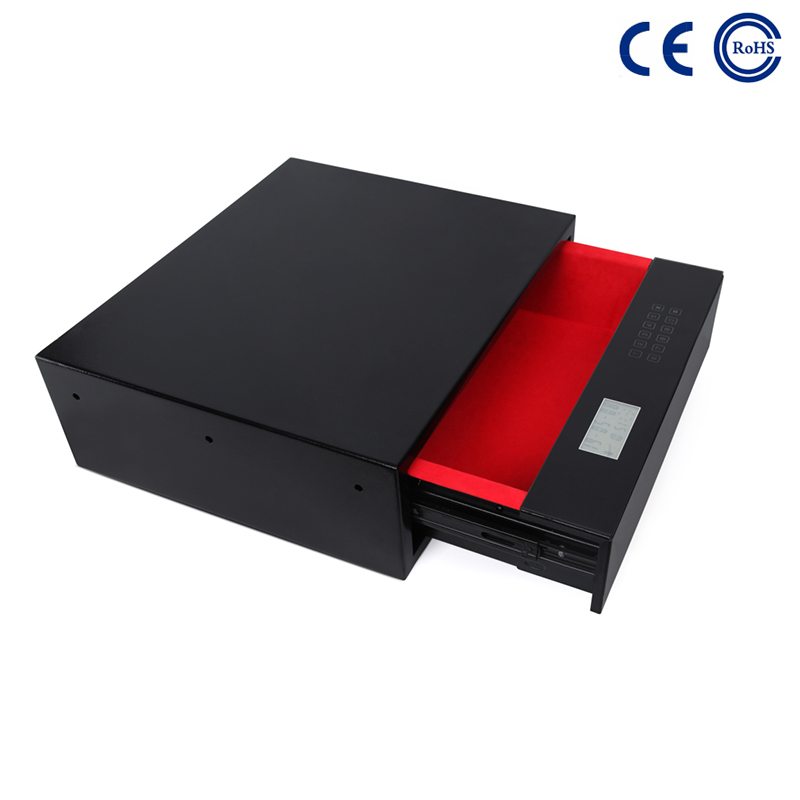China 2020 wholesale price Lock Box Key Safe - High Tech Advanced Electronic Front Opening Drawer Safe Box  K-DR480 – Mdesafe factory and suppliers | Mdesafe Featured Image