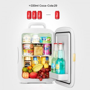 22L Home Car Convenient Refrigerator Chiller and Warmer Fridge For Travel