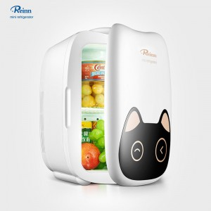 Portable Electronic Cooling And Warming Refrigerator 6L Car Fridge