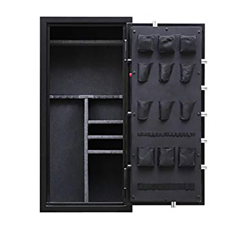 China 2020 China New Design High Security Metal Smart Mini Electronic Hotel Safe Deposit Box - Home Gun & Rifle Safes with Door Pocket – Mdesafe factory and suppliers | Mdesafe